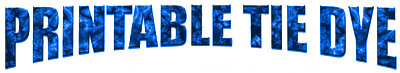 printable tie dye